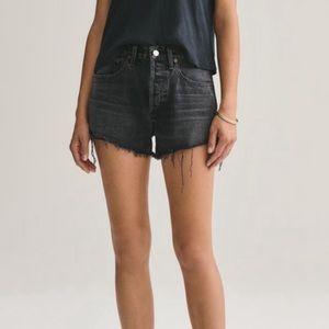 NWT Agolde Parker vintage distressed shorts